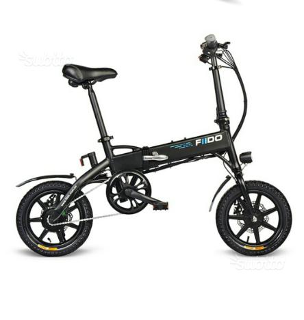 FIIDO D1 fällbar elektrisk cykel - GearBest