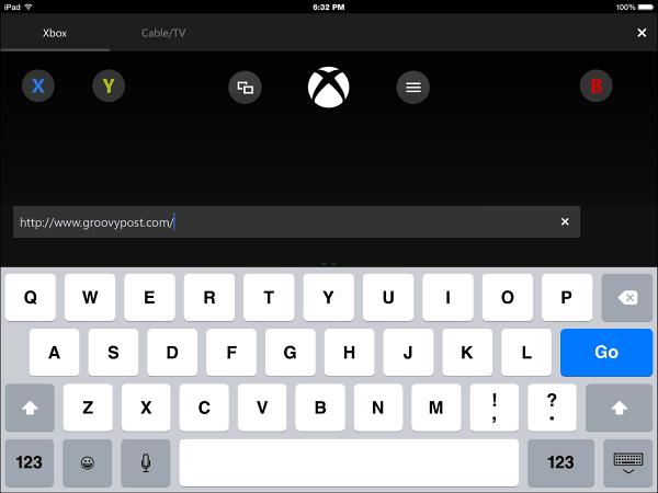 Xbox One SmartGlass iOS