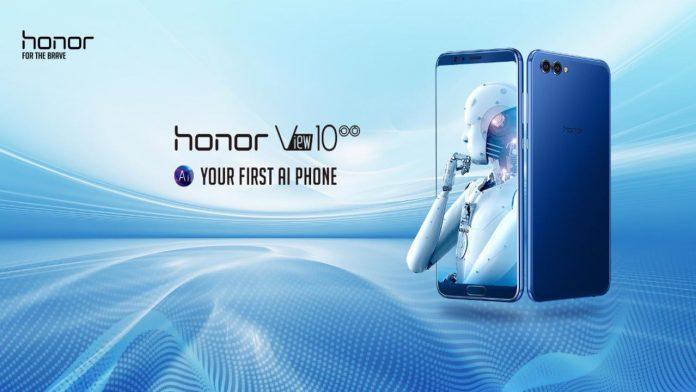 Honor View 10: uppdateringen ger EIS för videostabilisering och mer