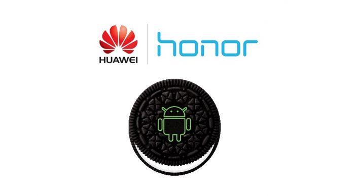 huawei honor oreo-uppdatering