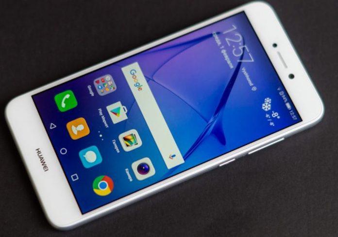 huawei p8 lite 2017 inget märke android oreo