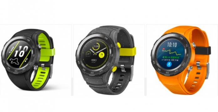 huawei watch 2 (2018) officiell