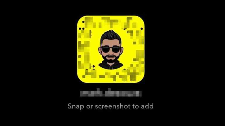 ansiktsmask Snapchat Bitmoji