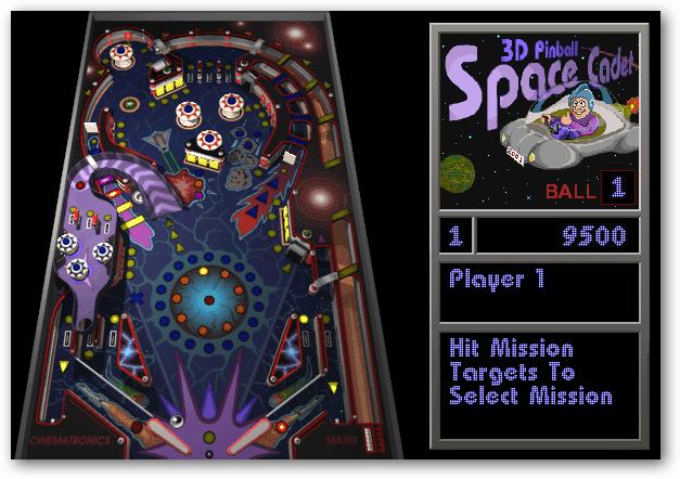 Installera Classic 3D Pinball Space Cadet Game