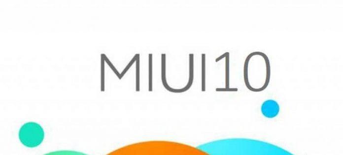 miui 10 första skärmdumpar