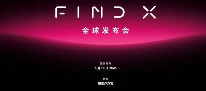 OPPO Find X kan debutera tillsammans med OPPO Find N och Find S