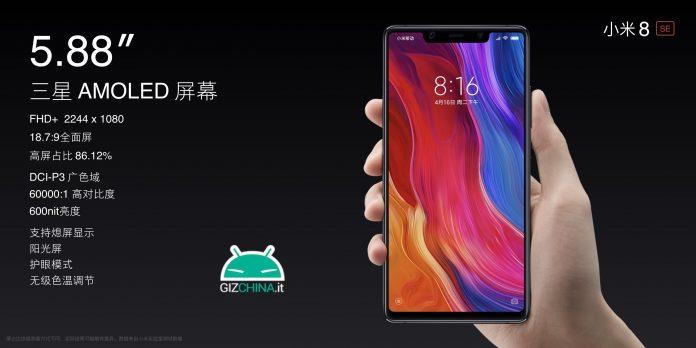 Xiaomi Mi 8 SE AMOLED