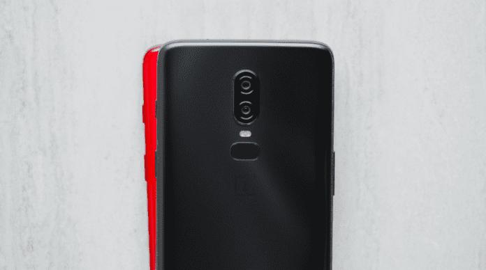 oneplus 6 röd