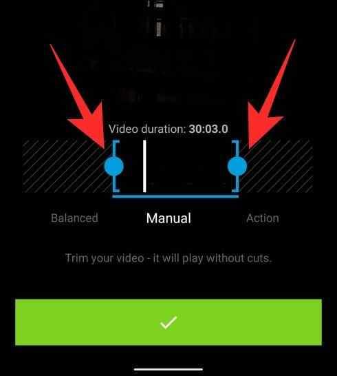 Så här trimmar eller förkortar du dina videor på Android