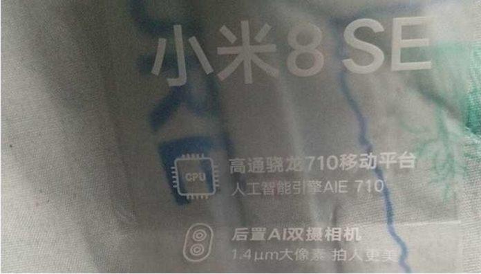 Xiaomi Mi 8 SE: en ny läcka ändrar korten som står på spel.  Låt oss vara tydliga!