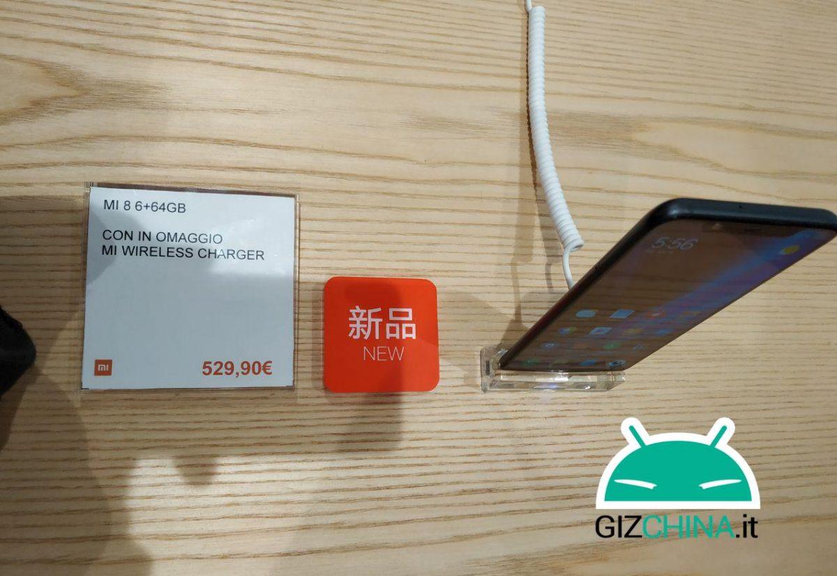 Xiaomi Mi 8 pris Italien