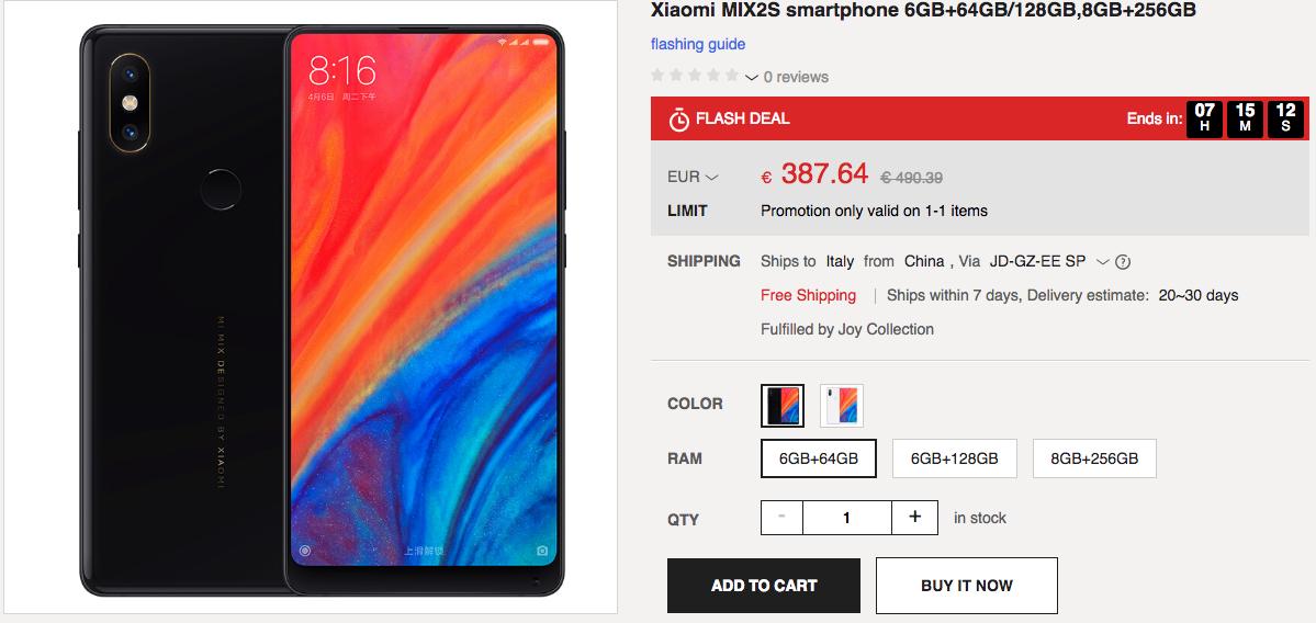 Xiaomi Mi MIX 2S JouBuy