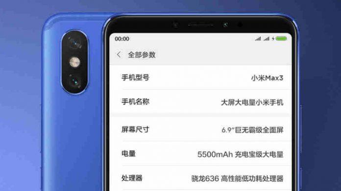 xiaomi-mi-max-3-teaser-pris-specifikationer-banner