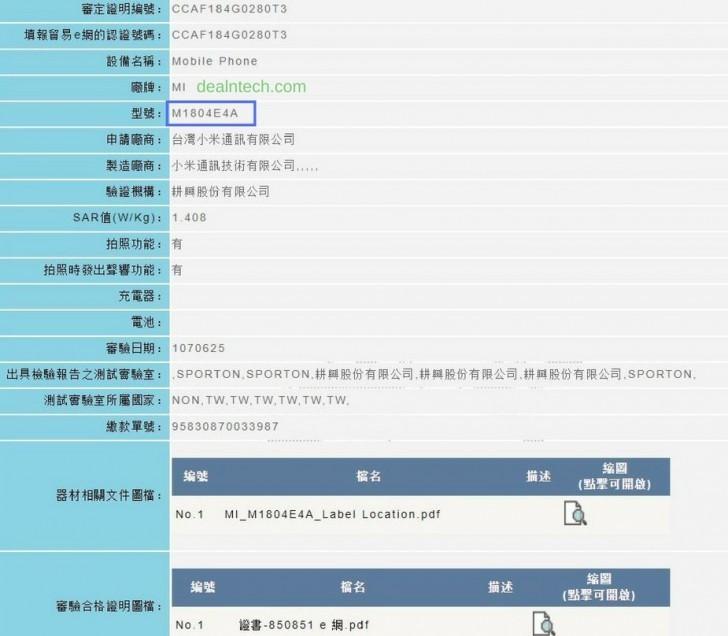 xiaomi-mi-max-3-pro-certifiering-ncc