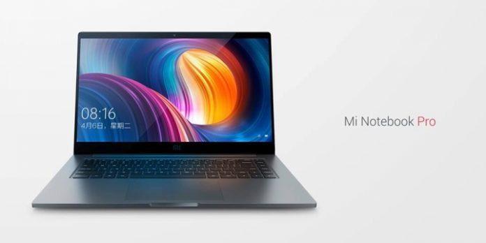 Xiaomi Mi Notebook Pro äntligen på en lägsta tid i i7 16/256 GB-varianten