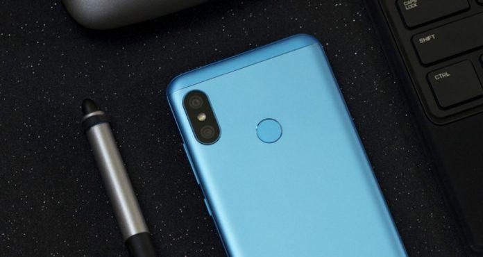 Xiaomi Redmi 6 Pro: Xiaomi publicerar bilderna av Lake Blue-versionen