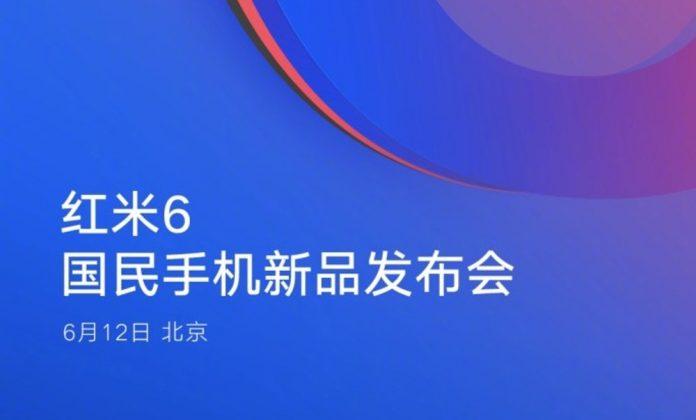 Xiaomi Redmi 6: företaget presenterar presentationsdatumet |  Förhandstitt