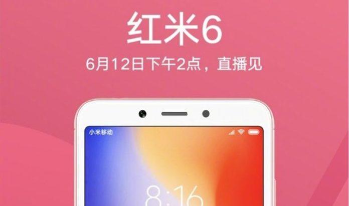 Xiaomi Redmi 6 och Redmi 6A officiell: datablad, pris och släppdatum