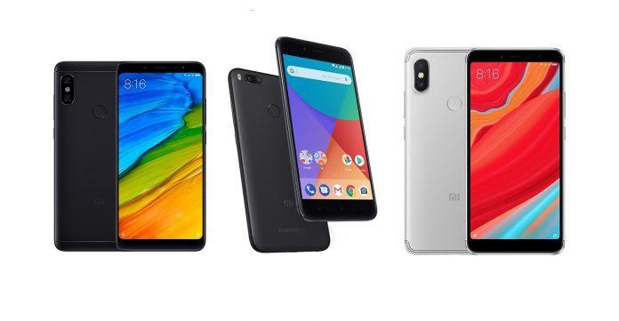 Xiaomi Redmi Note 5 Global, Mi A1 och andra som erbjuds på Eurmi